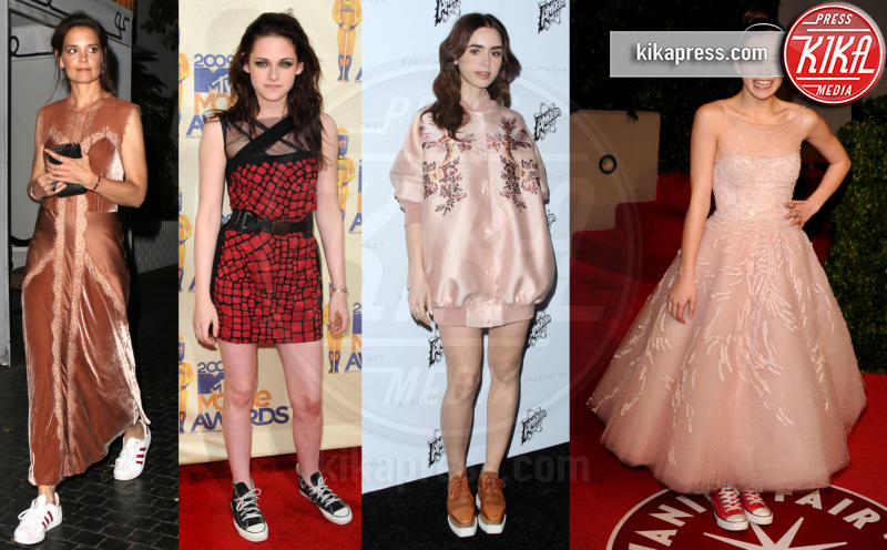 Hailee Steinfeld, Lily Collins, Kristen Stewart, Katie Holmes - Basta tacchi alti: vado in sneakers sul red carpet!