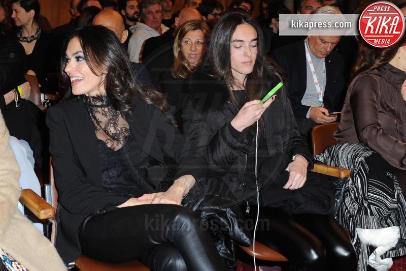 Giulia Violati, Maria Grazia Cucinotta - Cortina d'Ampezzo - 23-03-2017 - Cortinametraggio, Maria Grazia Cucinotta contro il femminicidio