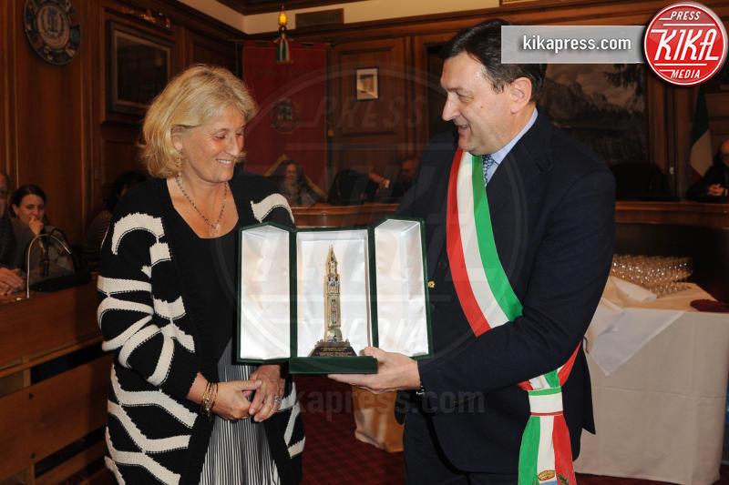 Carlo de Rogatis, Maddalena Mayneri - Cortina d'Ampezzo - 23-03-2017 - Cortinametraggio, Maria Grazia Cucinotta contro il femminicidio