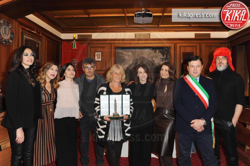 Michela Andreozzi, Maddalena Mayneri, Maria Grazia Cucinotta - Cortina d'Ampezzo - 23-03-2017 - Cortinametraggio, Maria Grazia Cucinotta contro il femminicidio