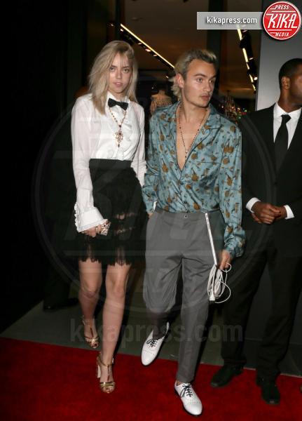 Raina Lawson, Brandon Thomas Lee - Los Angeles - 23-03-2017 - Le donne di Sylvester Stallone in fiore al party Dolce & Gabbana