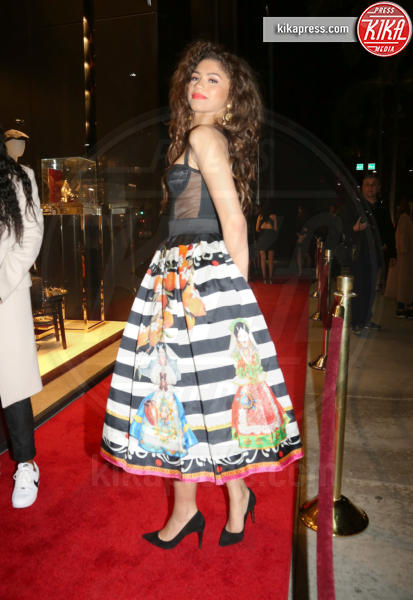 Zendaya - Beverly Hills - 23-03-2017 - Le donne di Sylvester Stallone in fiore al party Dolce & Gabbana