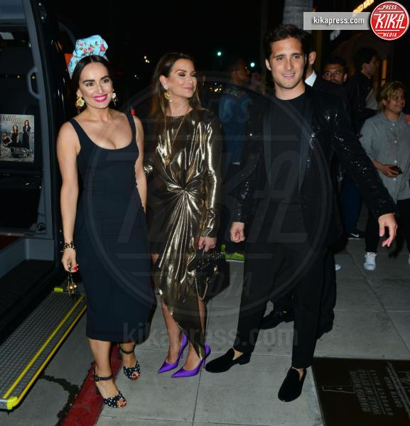 Diego Boneta, Ana De La Reguera - Beverly Hills - 23-03-2017 - Le donne di Sylvester Stallone in fiore al party Dolce & Gabbana