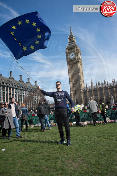 Protesta anti Brexit, Atmosphere - Londra - 25-03-2017 - Londra: un oceano in movimento contro la Brexit