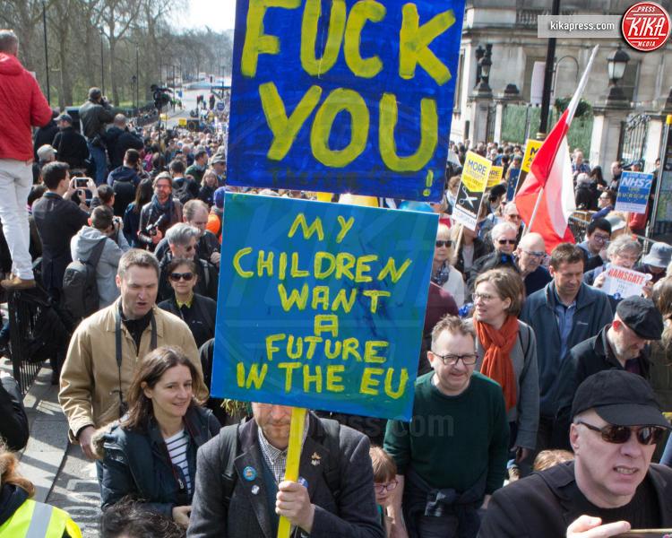 Protesta anti Brexit - Londra - 25-03-2017 - Londra: un oceano in movimento contro la Brexit