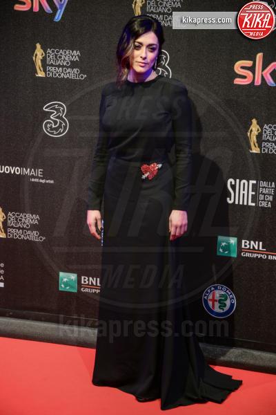 Valentina Lodovini - Roma - 27-03-2017 - David di Donatello 2017: l'eleganza sul red carpet