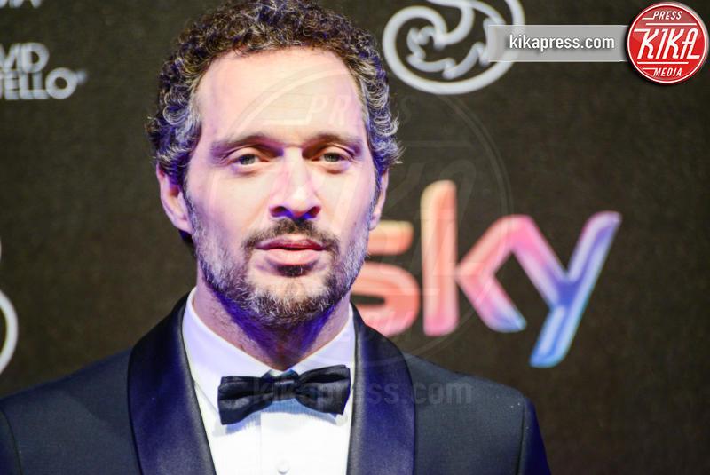 Claudio Santamaria - Roma - 27-03-2017 - David di Donatello 2017: l'eleganza sul red carpet