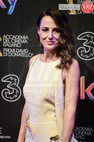 Valentina Carnelutti - Roma - 27-03-2017 - David di Donatello 2017: l'eleganza sul red carpet