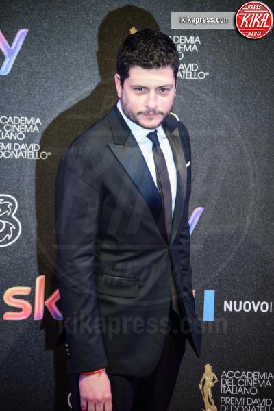 Claudio Giovannesi - Roma - 27-03-2017 - David di Donatello 2017: l'eleganza sul red carpet
