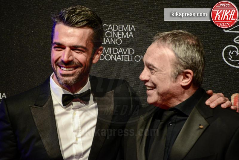 Luca Argentero, Claudio Amendola - Roma - 27-03-2017 - David di Donatello 2017: l'eleganza sul red carpet