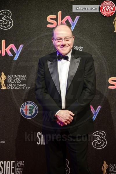 Carlo Verdone - Roma - 27-03-2017 - David di Donatello 2017: l'eleganza sul red carpet