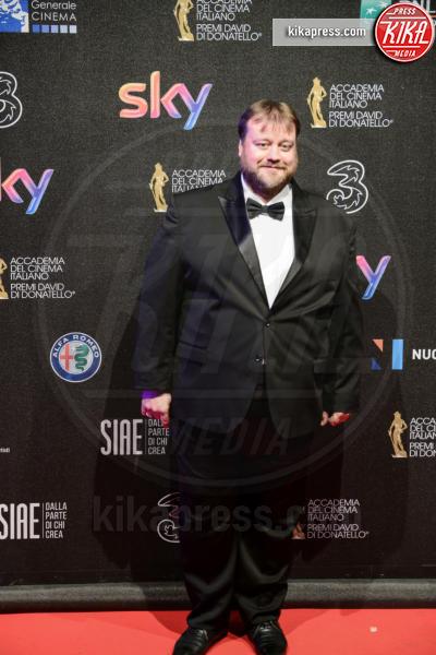 Stefano Fresi - Roma - 27-03-2017 - David di Donatello 2017: l'eleganza sul red carpet