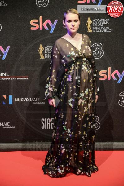 Caterina Shulha - Roma - 27-03-2017 - David di Donatello 2017: l'eleganza sul red carpet