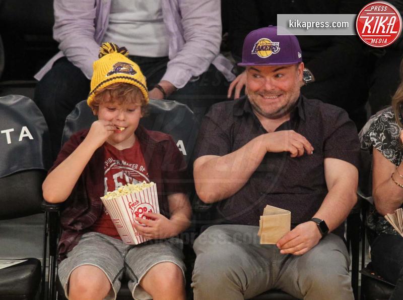 Samuel Black, Jack Black - Los Angeles - 28-03-2017 - Tale genitore tale figlio: Jack Black e il suo mini-me