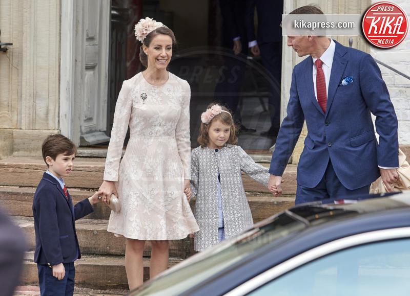 Princess Marie, Prince Henrik, Principessa Athena, Principe Joachim, Principe Henrik - Copenhagen - 01-04-2017 - Il principe Felix di Danimarca riceve la cresima