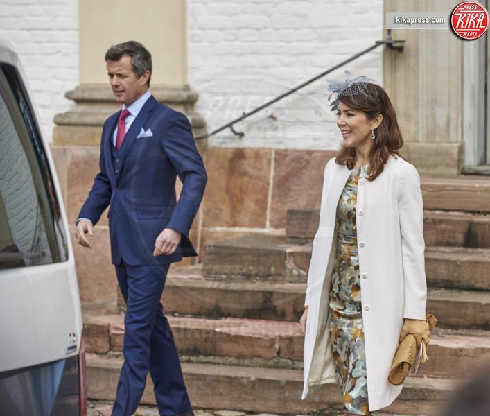 Prince Vincent, Prince Henrik, Principessa Mary - Copenhagen - 01-04-2017 - Il principe Felix di Danimarca riceve la cresima