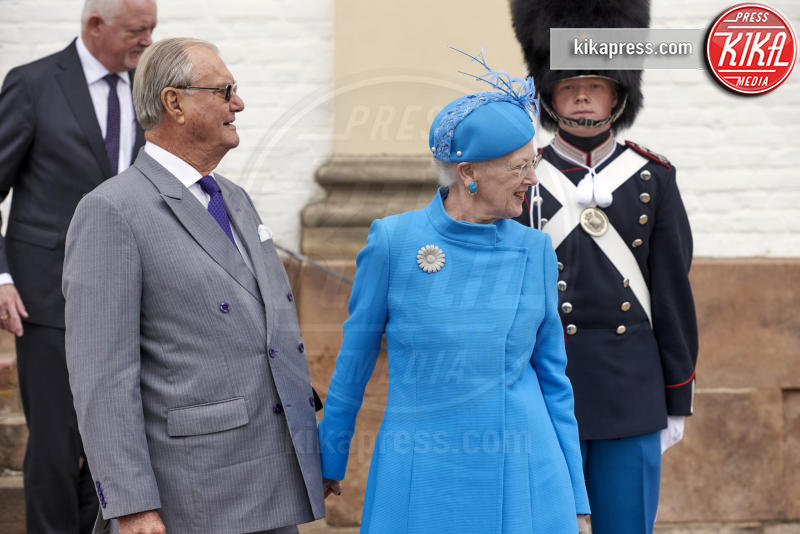 Prince Henrik, Regina Margrethe, Principe Henrik - Copenhagen - 01-04-2017 - Il principe Felix di Danimarca riceve la cresima