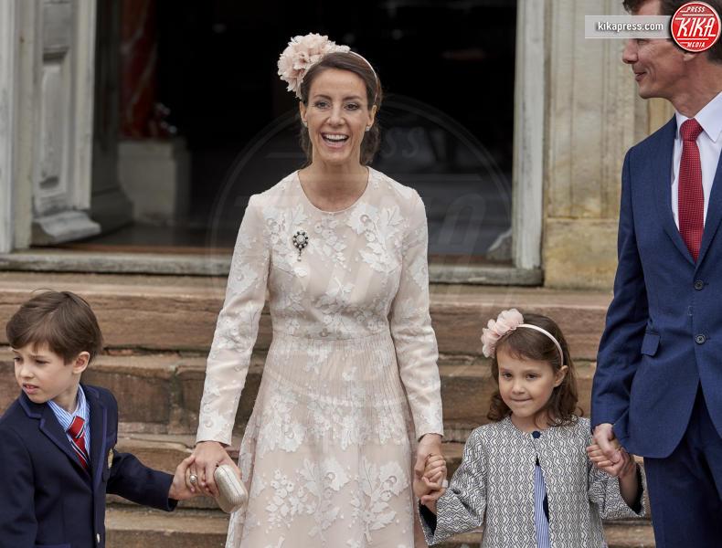 Princess Marie, Prince Henrik, Principessa Athena - Copenhagen - 01-04-2017 - Il principe Felix di Danimarca riceve la cresima