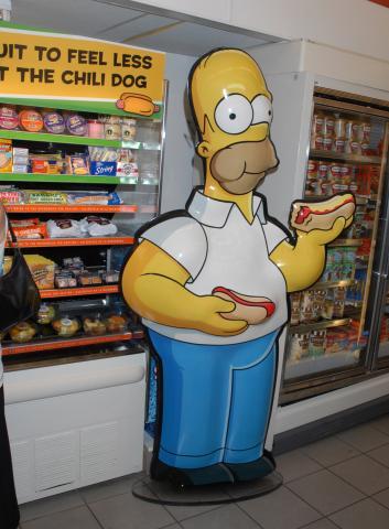 Il supermercato dei Simpson - Bubank - 02-07-2007 - IN CALIFORNIA I SIMPSON ESISTONO DAVVERO