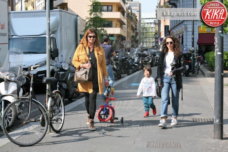 Santiago De Martino, Veronica Cozzani - Milano - 04-04-2017 - Andrea Iannone, la mamma di Belen lo tratta come un figlio