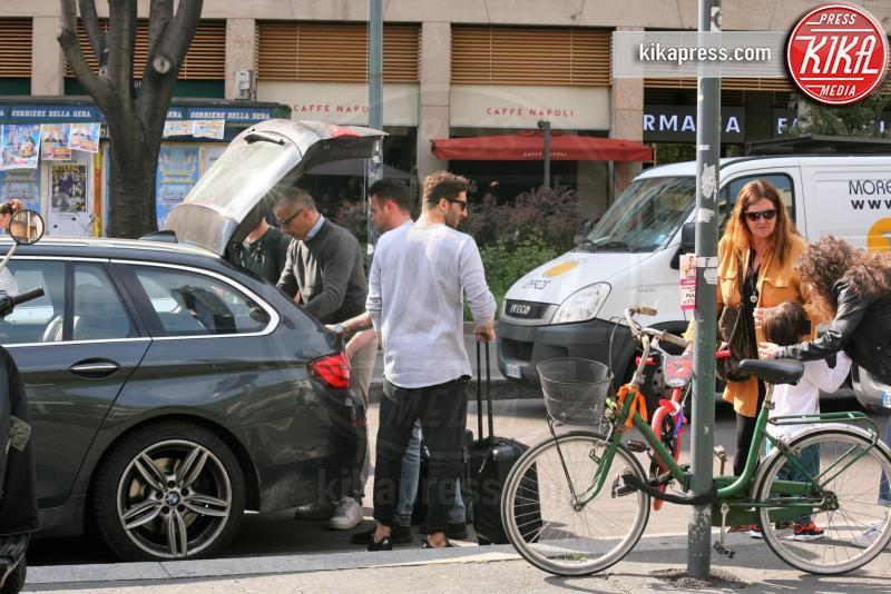 Regalino Iannone, Santiago De Martino, Veronica Cozzani, Andrea Iannone - Milano - 04-04-2017 - Andrea Iannone, la mamma di Belen lo tratta come un figlio