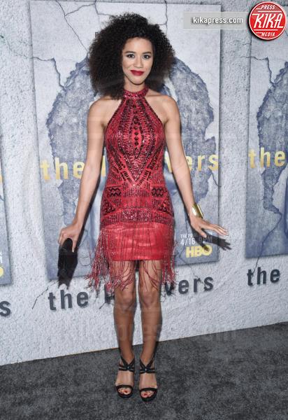 Jasmin Savoy-Brown - Hollywood - 04-04-2017 - Jennifer e Justin alla premiere di The Leftovers: e la crisi?