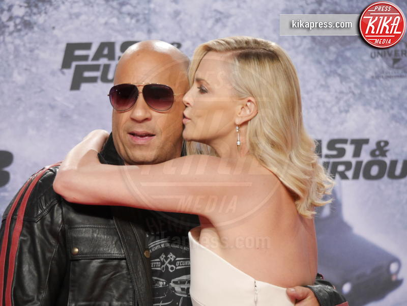 Vin Diesel, Charlize Theron - Berlino - 04-04-2017 - Il re del box office? Per Forbes è proprio lui!