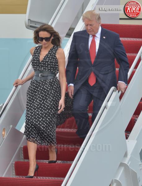Melania Trump, Donald Trump - West Palm Beach - 06-04-2017 - Melania Trump, uragano (di proteste) per il tacco 12