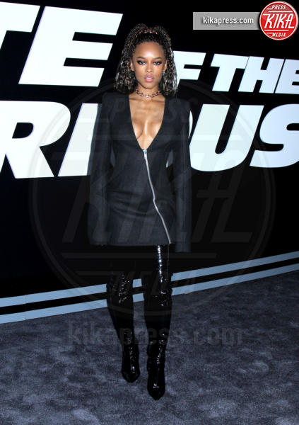 Serayah McNeill - New York - 08-04-2017 - Fast and Furious 8:Rosie Huntington Whiteley sfoggia il pancione