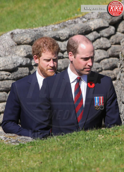 Principe William, Principe Harry - Vimy - 09-04-2017 - L'ultimo ricordo che William ed Harry hanno di Lady Diana
