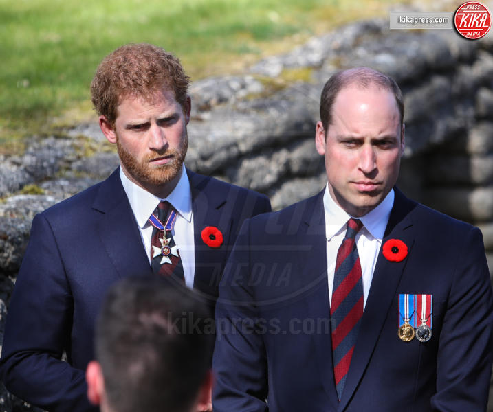 Principe William, Principe Harry - Vimy - 09-04-2017 -
