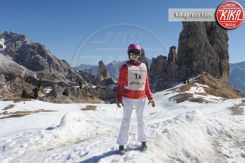 Bebe Vio - Cortina - 09-04-2017 - Bebe Vio: sciatrice provetta sulle nevi di Cortina