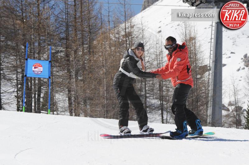 Cortina - 09-04-2017 - Bebe Vio: sciatrice provetta sulle nevi di Cortina