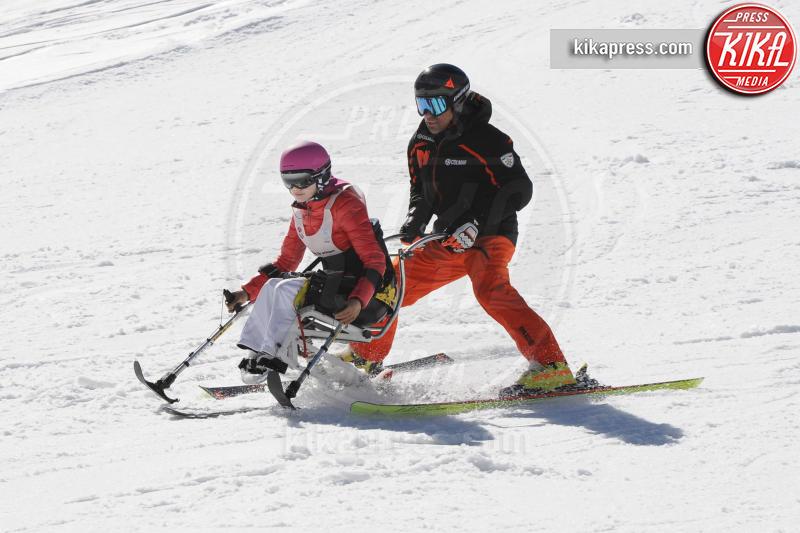 Bebe Vio, Kristian Ghedina - Cortina - 09-04-2017 - Bebe Vio: sciatrice provetta sulle nevi di Cortina