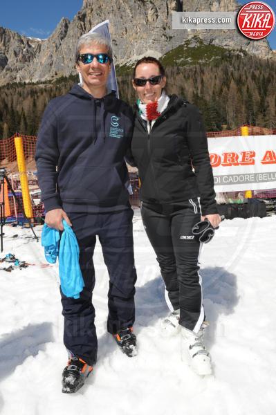 Elena Donazzan, Paolo Nicoletti, - Cortina - 09-04-2017 - Bebe Vio: sciatrice provetta sulle nevi di Cortina
