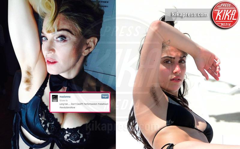 Madonna - 11-04-2017 - Anche Emily Ratajkowski sceglie un'estate non depilata