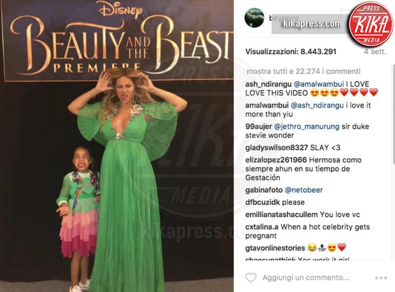 Blue Ivy Carter, Beyonce Knowles - 11-04-2017 - Chi lo indossa meglio? Beyoncé e Lupita Nyong'o