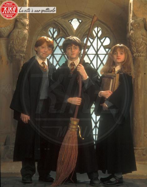 Emma Watson, Daniel Radcliffe, Rupert Grint - Northumberland - 04-11-2001 - Emma Watson a un passo dai trenta! Auguri Hermione