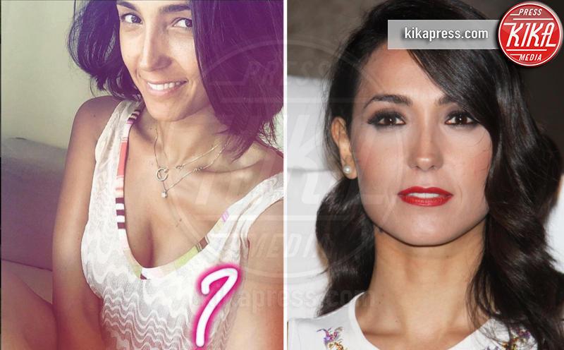 Caterina Balivo - Los Angeles - 09-08-2016 - Prima e dopo: il miracolo del make up!