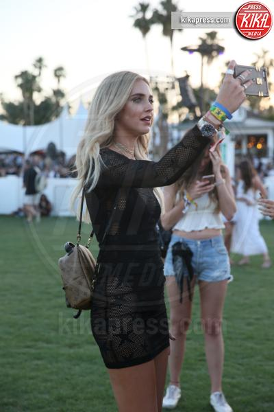 Chiara Ferragni - Indio - 15-04-2017 - Coachella 2017: Kylie Jenner tutta d'oro, Ferragni dark lady