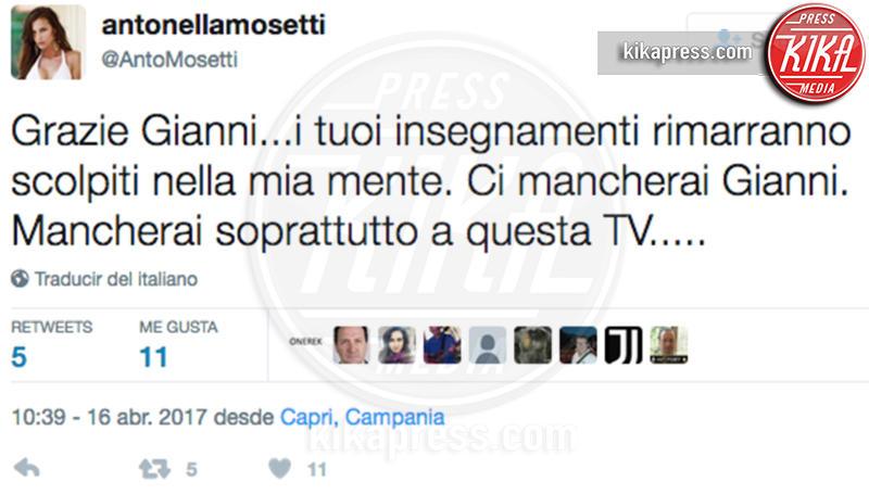 Antonella Mosetti - Milano - Addio Gianni Boncompagni, il ricordo di Ambra e degli altri vip