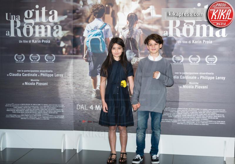 Libero Natoli, Tea Buranelli - Roma - 18-04-2017 - Claudia Cardinale si fa Una Gita a Roma
