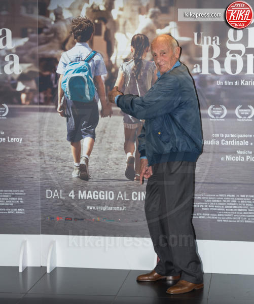 Philippe Leroy - Roma - 18-04-2017 - Claudia Cardinale si fa Una Gita a Roma