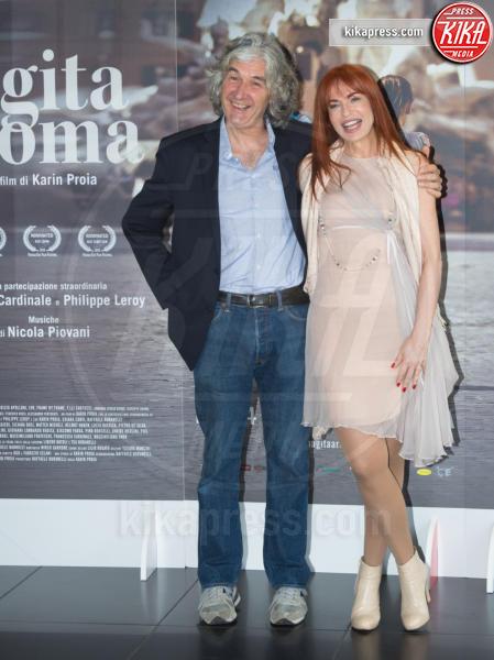 Numa Palmer, Phil Palmer - Roma - 18-04-2017 - Claudia Cardinale si fa Una Gita a Roma