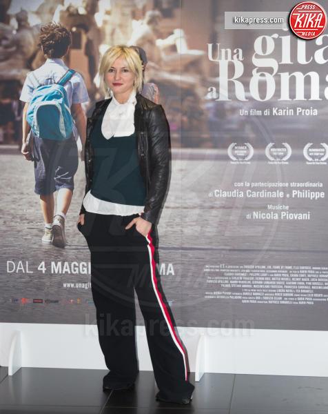 Chiara Conti - Roma - 18-04-2017 - Claudia Cardinale si fa Una Gita a Roma