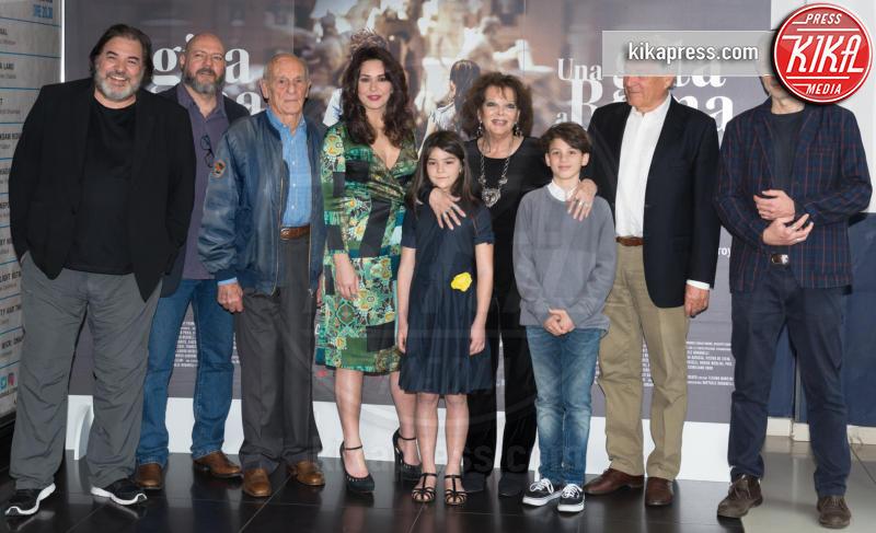 Cast al completo - Roma - 18-04-2017 - Claudia Cardinale si fa Una Gita a Roma