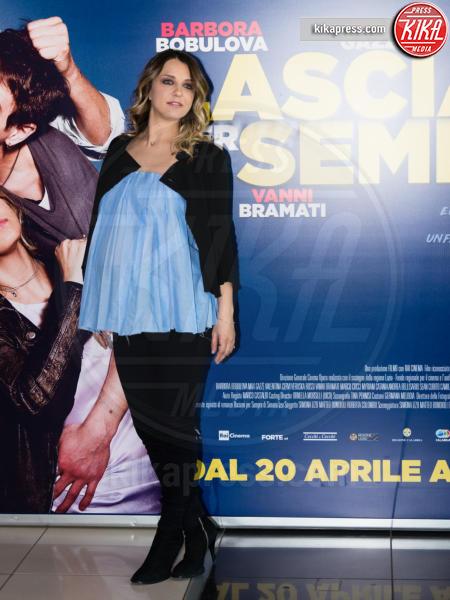 Myriam Catania - Roma - 19-04-2017 - Myriam Catania, che pancione alla prima di Lasciami per sempre