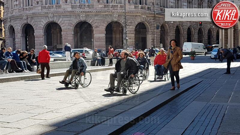 Gli architetti - Genova - 19-04-2017 - Genova: disabili per un giorno per eliminare le barriere