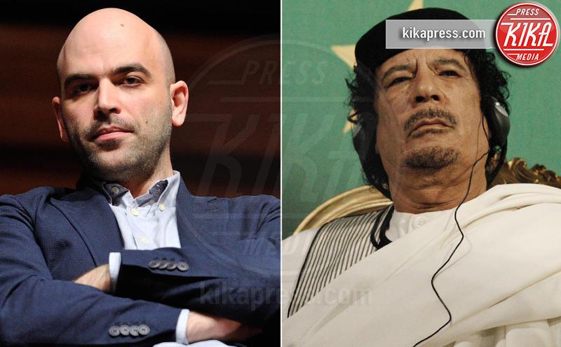 Roberto Saviano, Muhammar Gheddafi - Roma - 19-04-2017 - Roberto Saviano, una serie tv sulla vita di Gheddafi