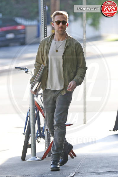 Ryan Gosling - Los Angeles - 19-04-2017 - Ryan Gosling - Justin Theroux: il pranzo dei sex symbol